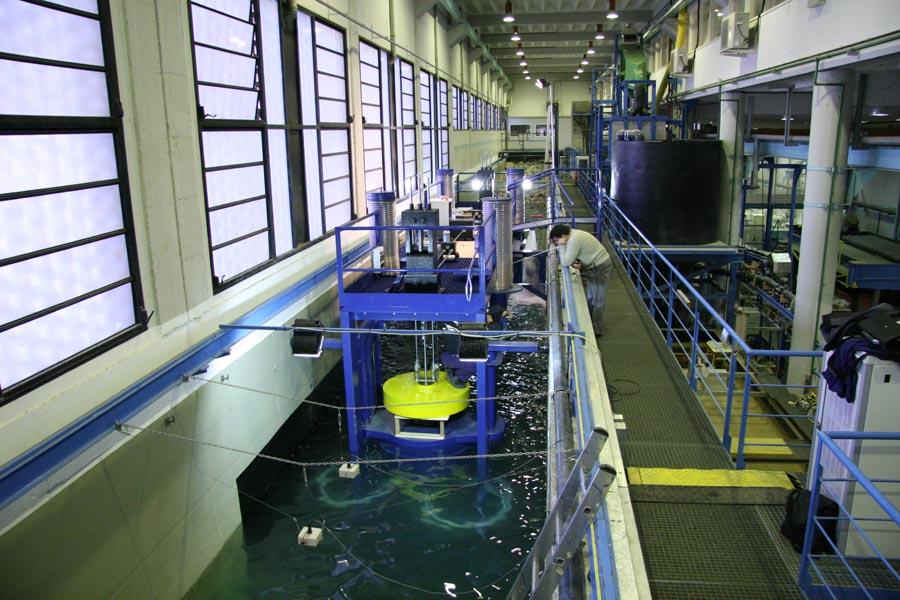 NODO 1a - CIEM/UPC - CIEM - Canal d'Investigació i Experimentació Marítima Large Scale
